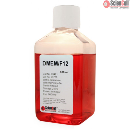 DMEM/F-12 with L-Glutamine and 15 mM HEPES