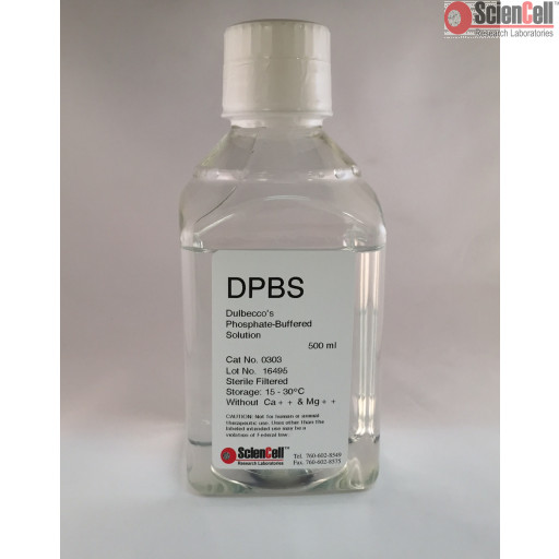 Dulbecco's Phosphate-Buffered Saline, 500 ml